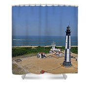New Cape Henry Lighthouse Shower Curtain