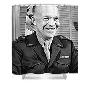 New Chief Of Staff Eisenhower Shower Curtain