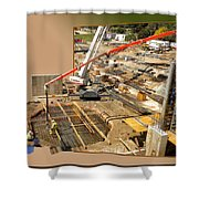 New Commercial Construction Site 02 Shower Curtain