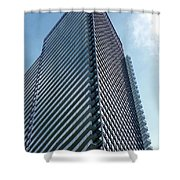 New Condo Building Shower Curtain