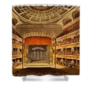 New Covent Garden Theatre Shower Curtain