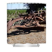 New Crop Antiquated Grader Shower Curtain