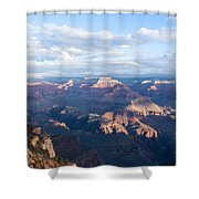 New Day At The Grand Canyon Shower Curtain