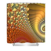New Day Shower Curtain