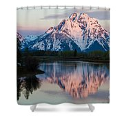 New Day Of Peace In Teton National Park Shower Curtain