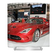 New Dodge Viper Shower Curtain