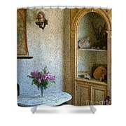 New England Florentine Shower Curtain
