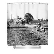 New England Road, C1910 Shower Curtain