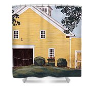 New England Roots Shower Curtain