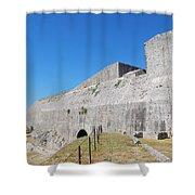 New Fort Corfu 1 Shower Curtain