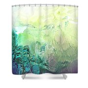 New Found Realm Shower Curtain