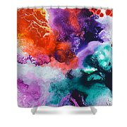 New Freedom Canvas One Shower Curtain