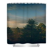 New Frontier Shower Curtain