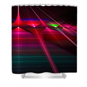New Gate Shower Curtain