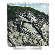 New Hampshire Ledge Shower Curtain
