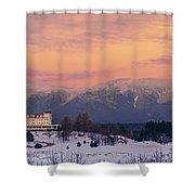 New Hampshires Washingtons Shower Curtain