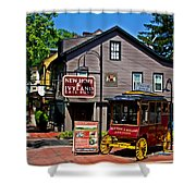 New Hope Crossing Shower Curtain