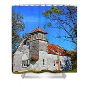 New Hope Mb Church Estill Ms Shower Curtain