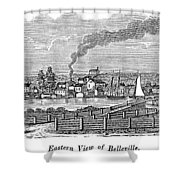 New Jersey Belleville Shower Curtain