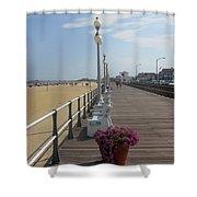 New Jersey Boardwalk Shower Curtain