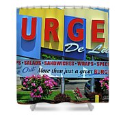 New Jersey Diner Shower Curtain