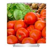 New Jersey Farm Market Goodness Shower Curtain
