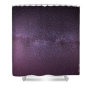 New Jersey Milky Way Shower Curtain