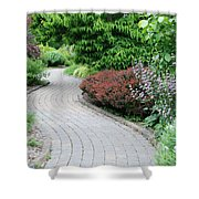 Frelinghuysen Arboretum Path Shower Curtain
