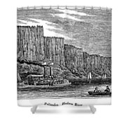 New Jersey Palisades Shower Curtain
