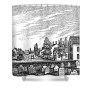 New Jersey Swedesboro Shower Curtain