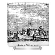 New Jersey Woodbridge Shower Curtain