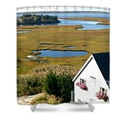 New Jersey's Beauty Shower Curtain