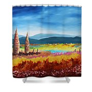 New Land Shower Curtain