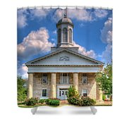 New London Courthouse Shower Curtain