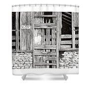 Will Build To Suit New Mexico Doors Shower Curtain