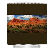New Mexico Mountains 2 Shower Curtain