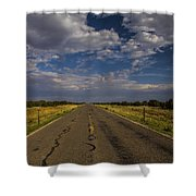 New Mexico Road 7 Shower Curtain