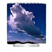 New Mexico Sky Shower Curtain by Jerry McElroy