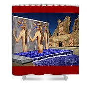 New Monument For The 3 Goddesses Shower Curtain