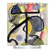New Moon Shower Curtain