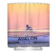 New Morning In Avalon Shower Curtain