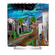 New Old Town La Quinta Shower Curtain
