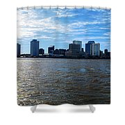 New Orleans - Skyline Of New Orleans Shower Curtain