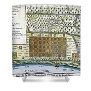 New Orleans, 1718-20 Shower Curtain