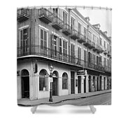 New Orleans: Buildings Shower Curtain