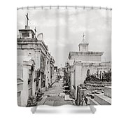 New Orleans: Cemetery Shower Curtain