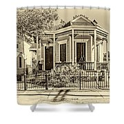 New Orleans Charm 2 Shower Curtain