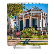 New Orleans Charm Shower Curtain