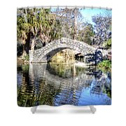 New Orleans City Park Shower Curtain