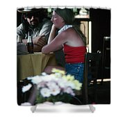 New Orleans: Couple Shower Curtain